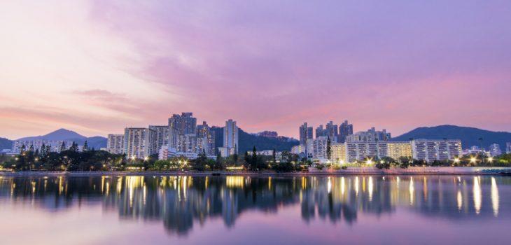 City sunset - Hong-Kong
