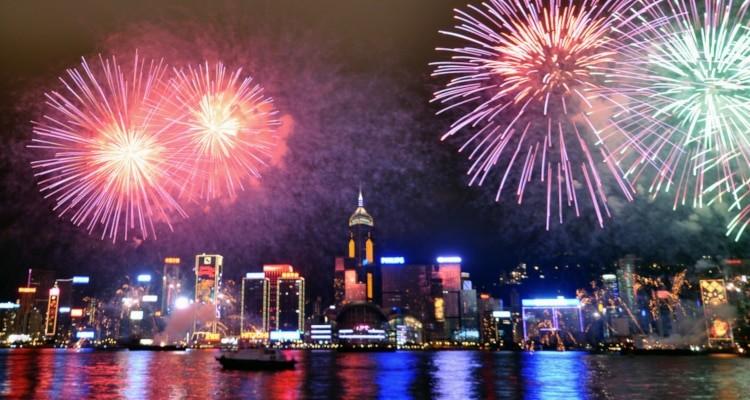 Fireworks - Victoria Harbour