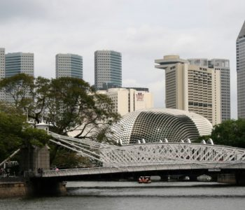Cavenagh Bridge Singapore